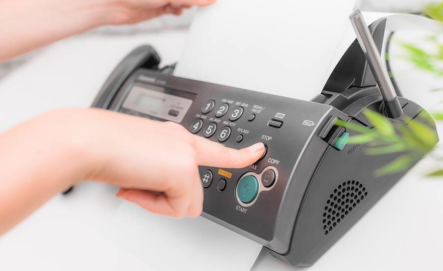MICEstens analog: deine Teilnehmer melden sich via Fax an