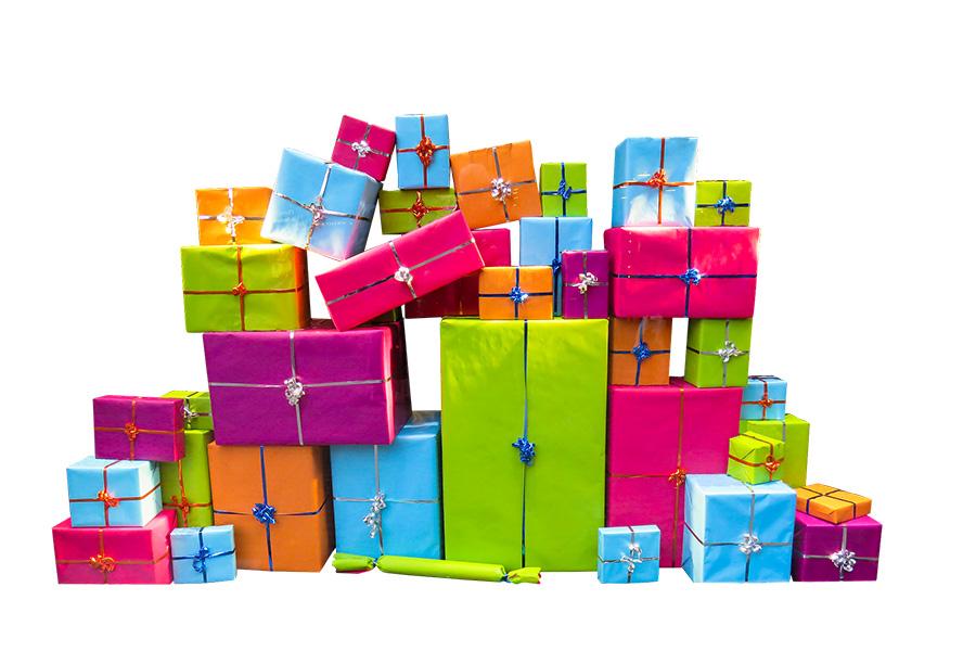Gratisproben und Geschenke