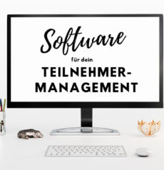 Eventmanagement-Software für dein Teilnehmermanagement