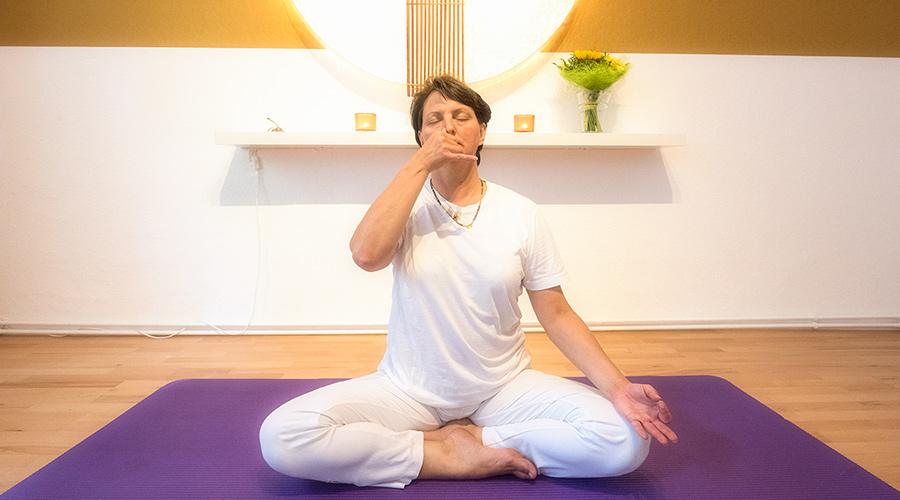 Stressabbau dank richtiger Atmung