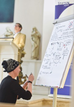 so geht Graphic Recording live