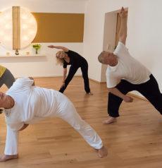 Stressabbau dank regelmäßiger Yoga-Praxis