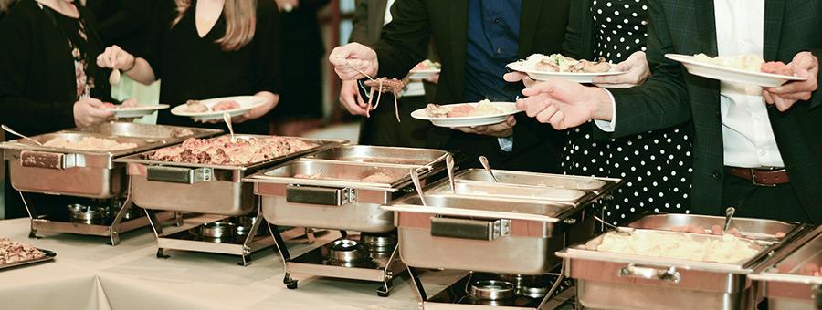 Cateringstation richtig aufbauen – Wartezeit meiden