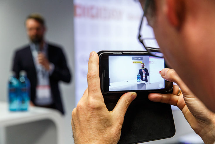 Mobile Livereporting bei Events-gcb