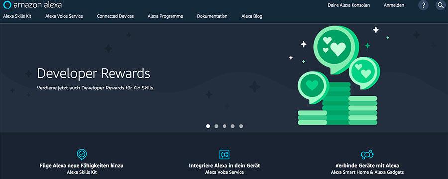 Amazon Alexa Developers Rewards