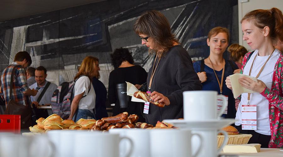 Catering auf einem Barcamp