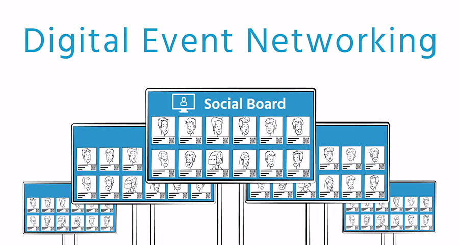 Digital-Networking-Wall-SocialBoard-Video