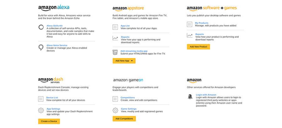 Wähle Amazon Alexa