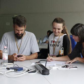 biete Strom auf dem Barcamp an