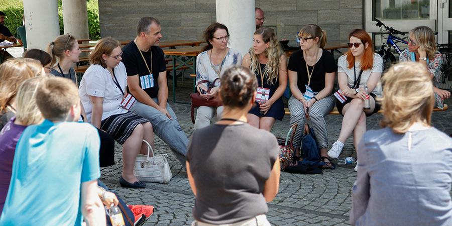 Networking und Austausch auf dem Barcamp