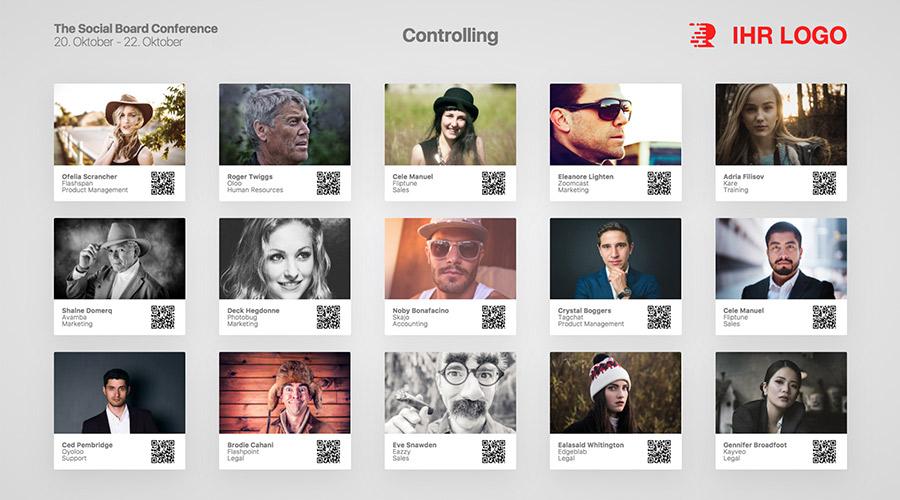 Social Board für Branding oder Sponsoring