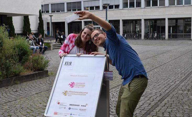 twittern vom Barcamp
