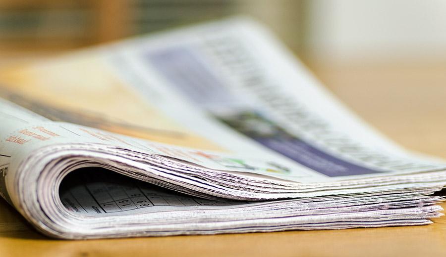 Pressearbeit Zeitung lesen