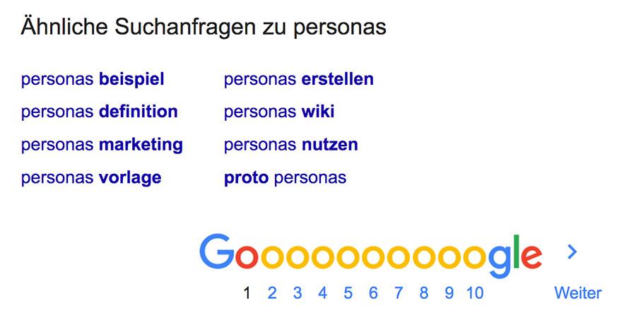 SEO für Events | Google Vorschläge nutzen