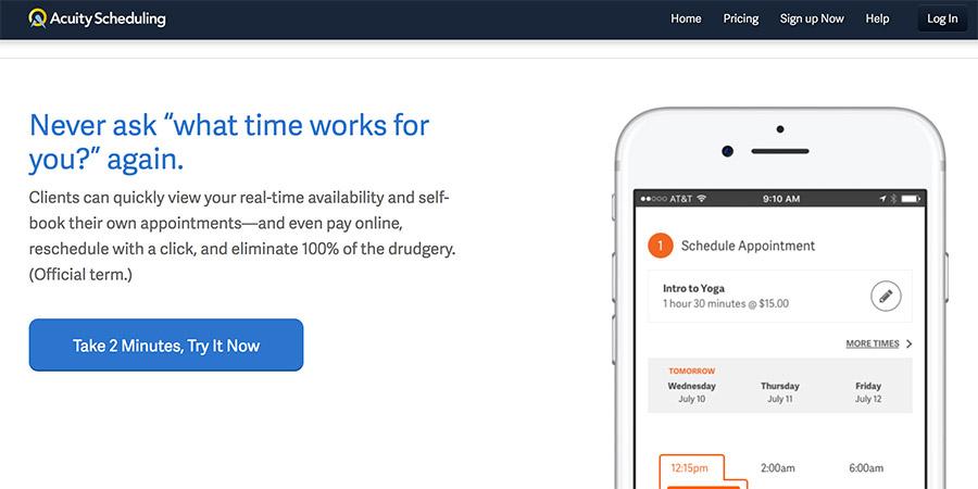 Online Terminplaner | Acuity Sceduling