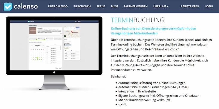 Online Terminplaner | Calenso