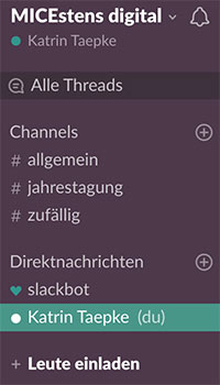 Slack | beliebtes digitales Tool