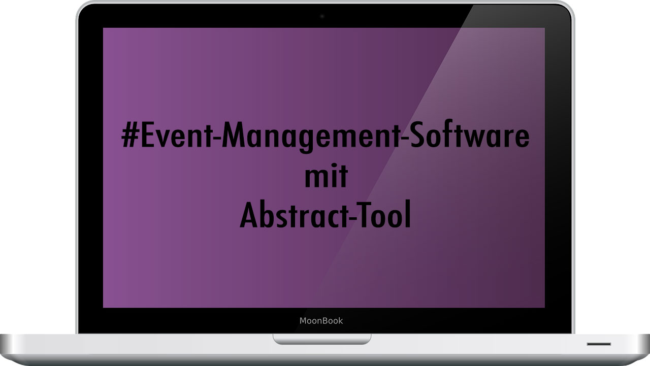 Event-Management-Software mit Abstracttool