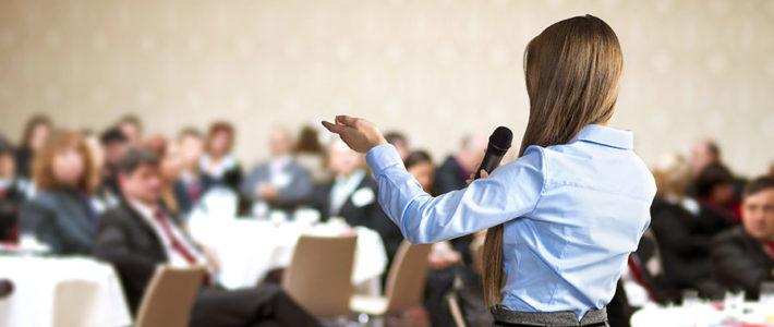 Frauen auf die Bühne auch bei Medizinkongressen