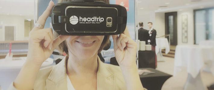 VR-Brillen auf Events