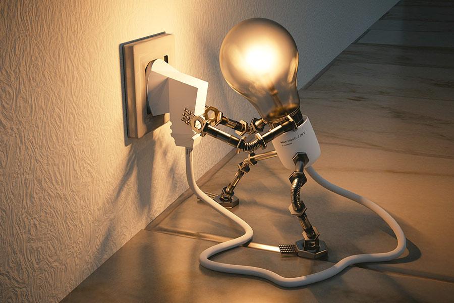 Strom für Smartphones und Laptops