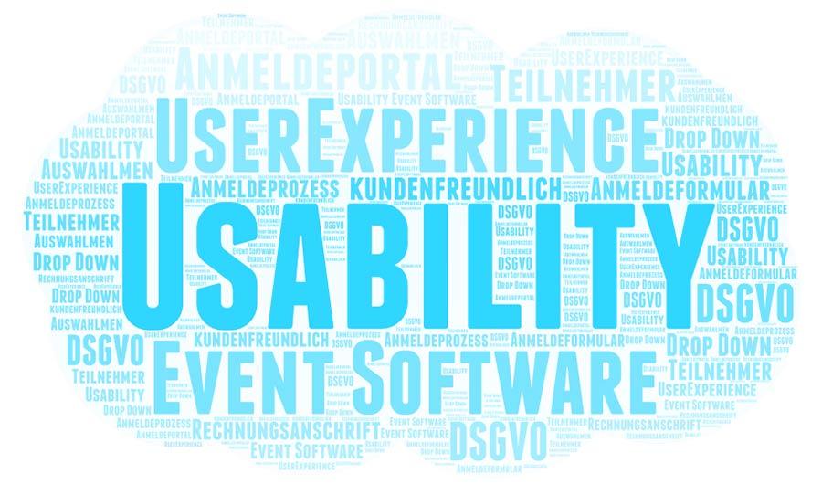 Event Software | Usability und kundenfreundlich