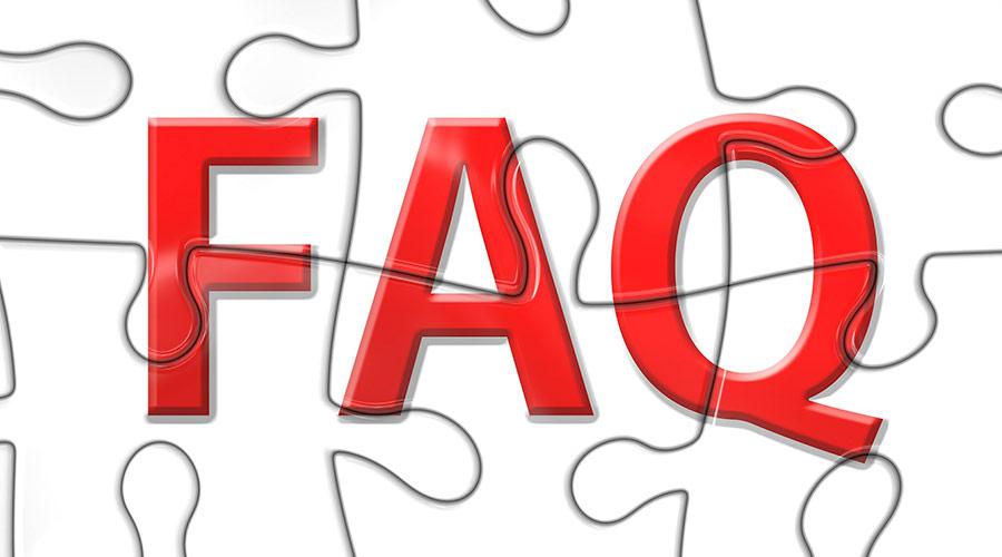 FAQ gestalten