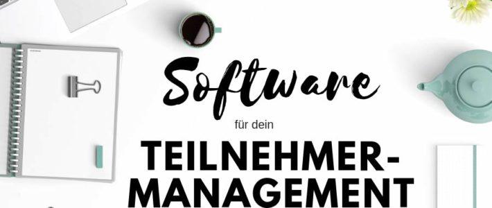 Software für Teilnehmermanagement