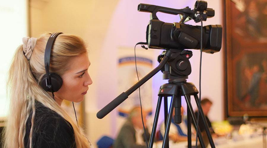 Vorträge üben mit Kamera
