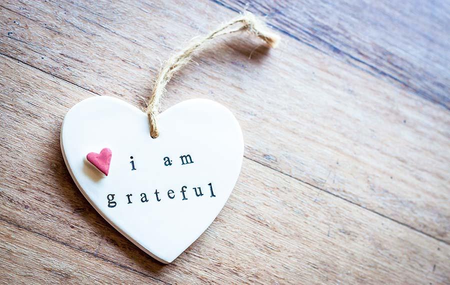 Bedanke dich regelmäßig