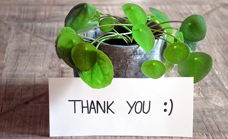 Danke deinen Referenten für ihr Engagement.