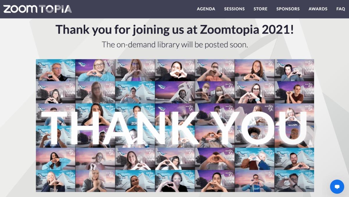 Zoomtopia – Nachbereitung und Danken ist Teil des Event-Managements