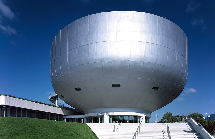 BMW Museum: die Museumsschüssel