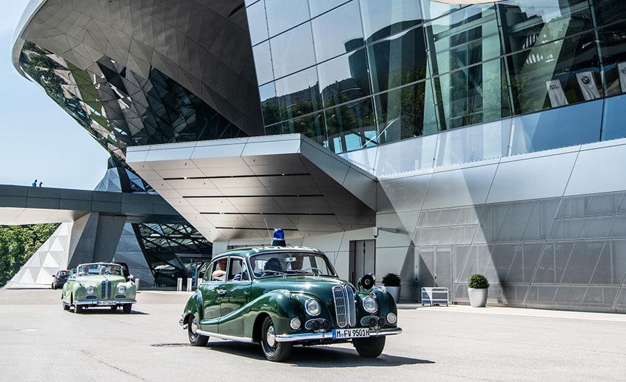 BMW Brand Experience: Oldtimer erfahren