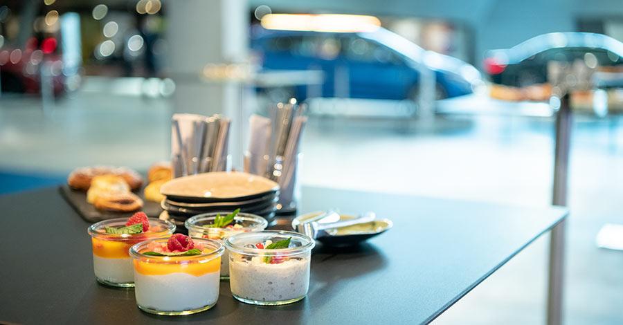 BMW Group Event Forum: Catering aus einer Hand - Feinkost Käfer