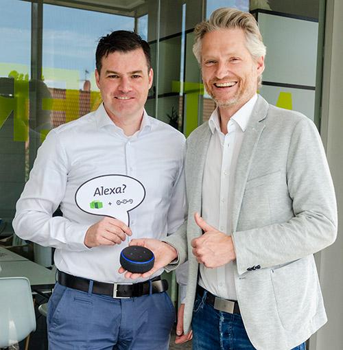 Amazon Alexa Skill in der OsnabrückHalle dank Die Etagen