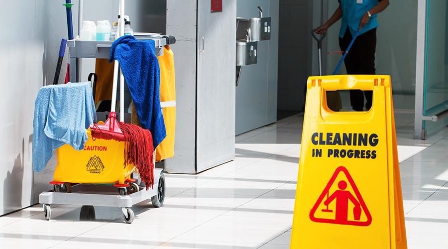 Reinigungsservice korrekt ordern dank Heatmap