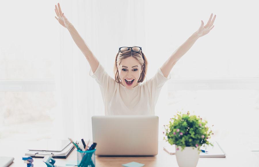 Remote oder Home Office dank des modernen Arbeitgebers