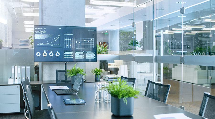 moderner Arbeitgeber > moderne Büroausstattung