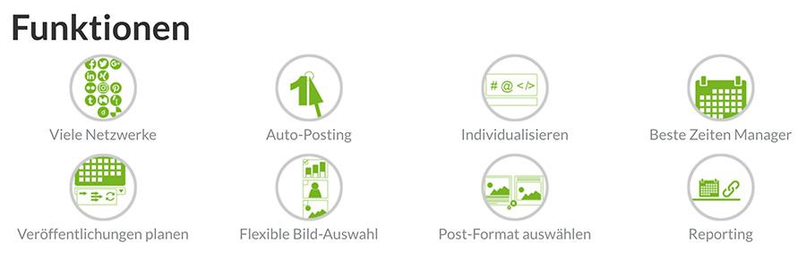 Blog2Social hat viele Features zum Teilen von Blogbeiträgen