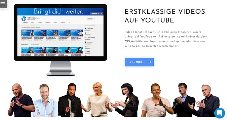 Event Marketing mit eigenem YouTube-Kanal