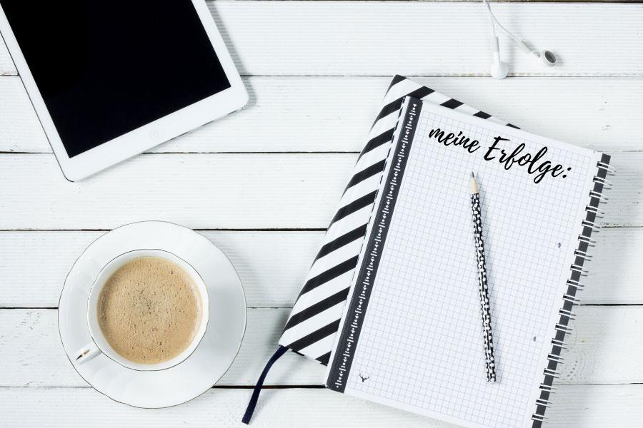 Notiere alle 3 Tage deine messbaren Erfolge
