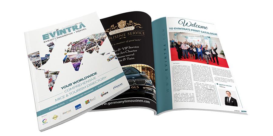 Das Printmagazin von EVINTRA