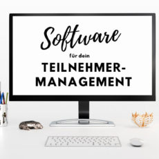 Teilnehmermanagement Software für Events