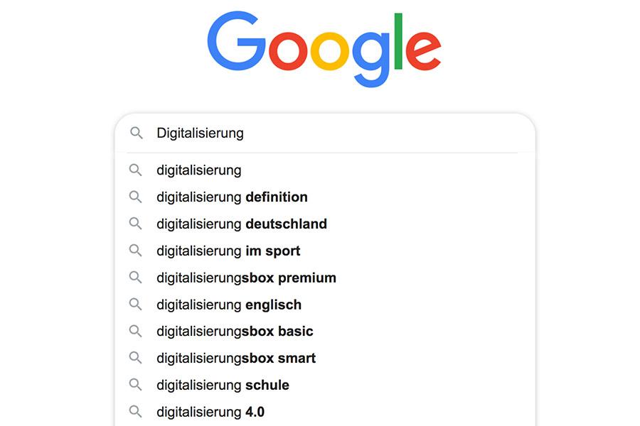 befrage doch einmal Google direkt