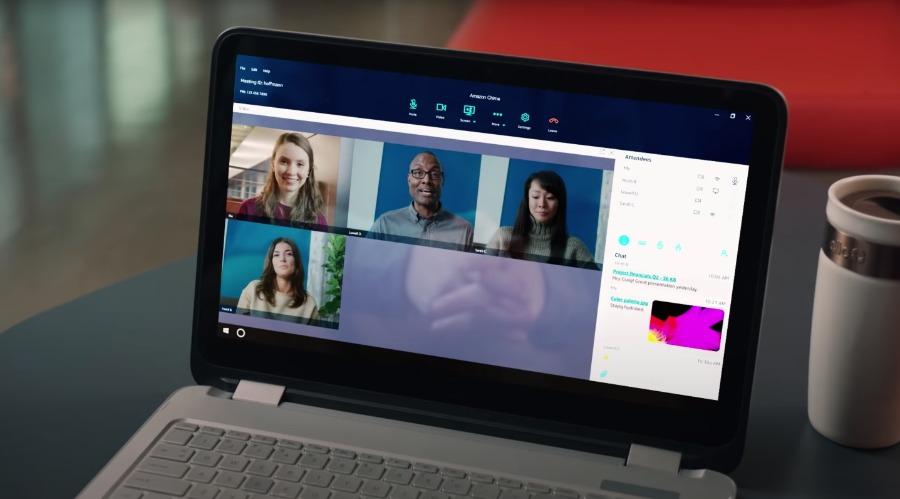 Amazon Chime: Videokonferenz-Software für Online-Events