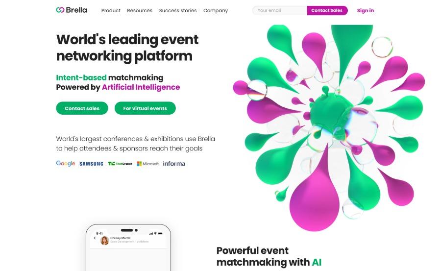 Brella – virtuelle Eventplattform