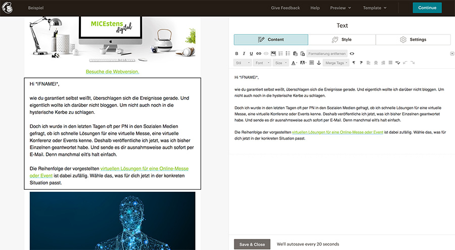 E-Mail-Marketing mit MailChimp