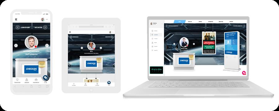Fusion Fairs – Anbieter für virtuelle Messen