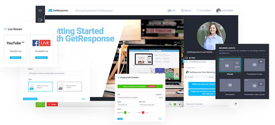 Marketing Automation und Webinare aus einer Hand mit GetResponse